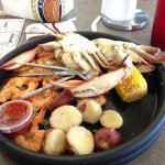 boiled seafood platter special