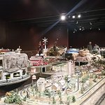 Part of the model railroad display.