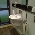 Two lovely bathrooms, one with bath/shower and one with overhead shower. Well supplied with towe