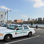 Park Ranger car on site