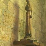 Une des nombreuses statues de l'église