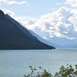 beautiful kenai lake almost to seward