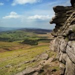 The incredible Stanage Edge as frequented by our Climbing Courses