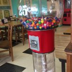 Gum ball machine!!