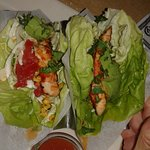 Skinny Menu: Lettuce Wraps (a bit on the spicy side)