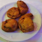 Pakora (beignets d'aubergine)