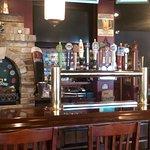 Corgans bar area.
