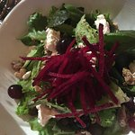 Posana Lettuces salad - local beets - hard to beat (ha ha!).