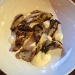 Grilled nebrodini mushrooms - really, to die for!