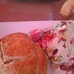 Main Meals: Chowder Bowl/Wedge Salad & Lobster Melt Sandwich