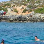 Swimming and snorkeling from the boat