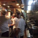 "The ""line"" at this restaurant---in constant motion. They are the workhorses that make the ""magic"