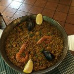 Paella Mix, Seafood & chicken.