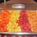 Fresh Fruit on Sunday Breakfast Buffet