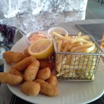 Scampi.good sizes portion.