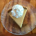 Newport News VA Crab Shack Restaurant, Key Lime Pie Dessert, 9-14-17