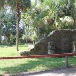 Ruins of old estate