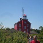 Lighthouse at Marquette, Mi