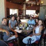 Enjoying the breakfast buffet at Bakal. Excellent!!!
