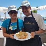 Dalia & Edwin from the Joy Squad prepared a delicious ceviche!!!