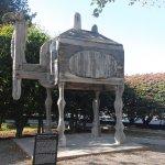 camel outside farnsworth