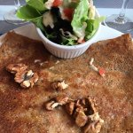 Galette roquefort et noix