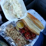 Lobster roll to go
