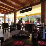 Inside Flocas Cafe