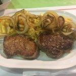 The lovely fillet steak