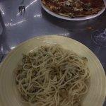 Linguini with white clam sauce, Capriccio di Mare, Road Town, Tortola