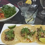 Chili Steak Tacos & Steelhead Risotto