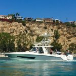 DANA POINT HARBOR, ❤️this New BOSTON 🐳WHALER 420 Outrage Abacus🎣🚤=1400 HP🚀