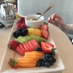 Breakfast - fruit plate