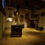 The sloped floor of the former theater made the recordings in this studio unique.