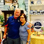 Celebrating their 26th anniversary at #WedgwoodInn with a 4 day stay. The Crofts from Maryland h