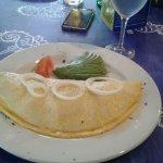 Yummy omelette for breakfast