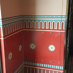 Holmwood House wall decor in the hall