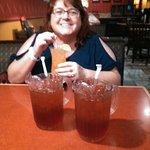 wife w/ drinks
