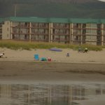 picture of our hotel in Seaside Oregon