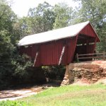Quaint covered bridge (and only one in SC)