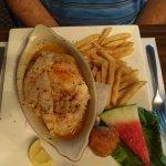 Stuffed rockfish