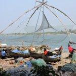Chinese Fishing Nets Foto