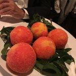 Sugar Crusted Peaches