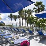 Pool Cabana Sun Deck