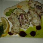 grilled calamari - a must