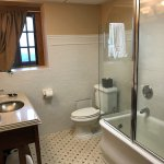 Room 322, The glass door on the bath tub was horrible - would not stay open or closed