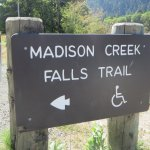 This is a handicapped accessible trail