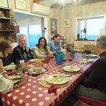Communal Dining at the Hrifunes Guesthouse