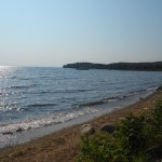 Western shore of Mille Lacs Lake