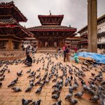 Kathmandu Durbar Square, beautiful place to hang out with lots of ancient arts and architecture.